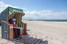 Plein Air Festival – Malen an der Ostsee – Pastellmaler am Strand von Kühlungsborn © Frank Koebsch (6)