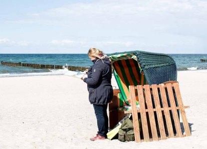 Plein Air Festival – Malen an der Ostsee – Pastellmaler am Strand von Kühlungsborn © Frank Koebsch (9)