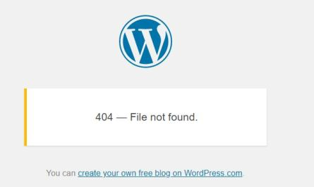 404 - File not found
