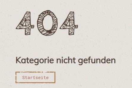404 - Kategorie nicht gefunden - 2
