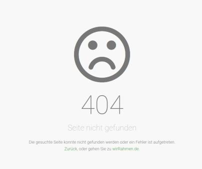 404 - Seite nicht gefunden (2)
