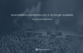 businstalltion.wordpress.com is no longer available