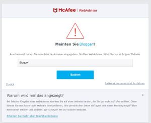 McAfee - WebAdvisor