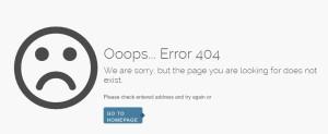 Ooops.. Error 404
