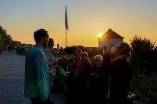 Gesellige Runde beim Sonnenuntergnag in Kühlungsborn (c) Frank Koebsch