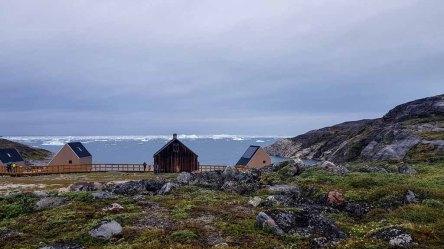 Glacier Lodge Eqi über der Diskobucht (c) FRank Koebsch (3)