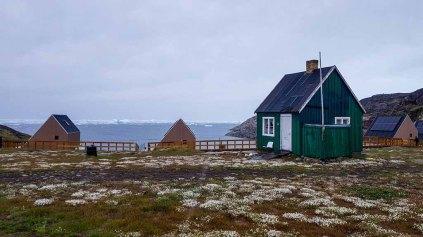 Glacier Lodge Eqi über der Diskobucht (c) FRank Koebsch (4)