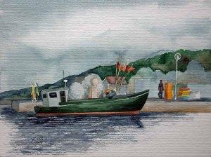 Kutter im Hafen von Thiessow (c) Frank Koebsch
