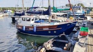 Malreise Rügen - Motivsuche bei den Schiffen im Hafen Thiessow (c) Frank Koebsch (1)