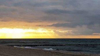 Sonnenuntergang am Strand von Kühlungsborn (c) Frank Koebsch (2)