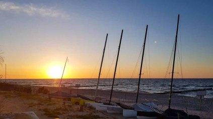 Sonnenuntergang am Strand von Kühlungsborn (c) Frank Koebsch (3)