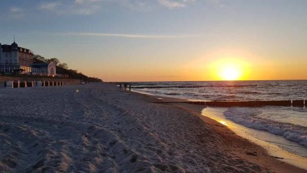 Sonnenuntergang am Strand von Kühlungsborn (c) Frank Koebsch (4)