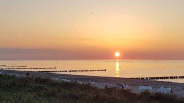 Sonnenuntergang am Strand von Kühlungsborn (c) Frank Koebsch (6)