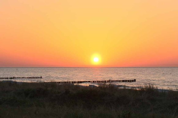 Sonnenuntergang am Strand von Kühlungsborn (c) Frank Koebsch (8)