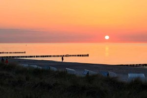 Sonnenuntergang am Strand von Kühlungsborn (c) Frank Koebsch (9)