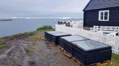 Treibhäuser an der Diskobucht in Ilimanaq (c) Frank Koebsch (1)