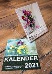 Kalender 2021 mit Aquarellen von Hanka und Frank Koebsch