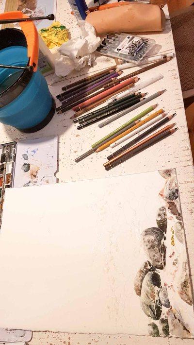 Malen während der Auszeit in Rieth (c) Frank Koebsch (4)