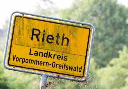 Ortseingang von Rieth (c) Frank Koebsch