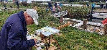 Wir malen im Hafen von Baabe © Frank Koebsch (8)