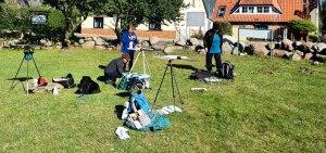 Wir malen in Middelhagen das Landhaus Mönchgut © Frank Koebsch (3)