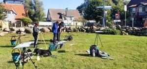 Wir malen in Middelhagen das Landh