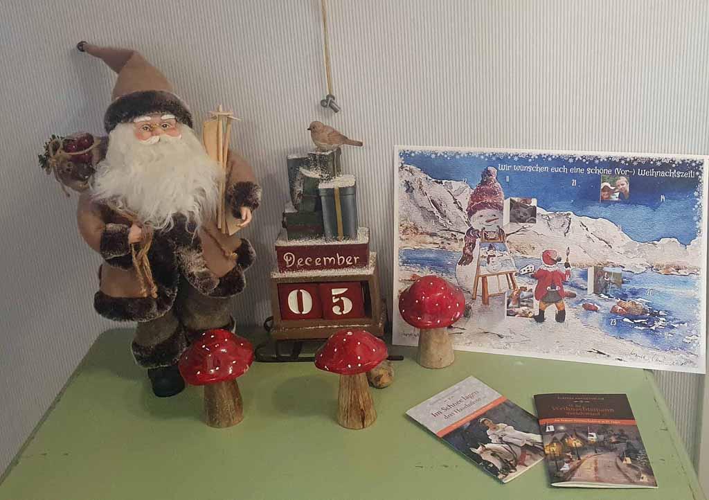 Unsere Adventskalender (c) Hanka & Frank Koebsch