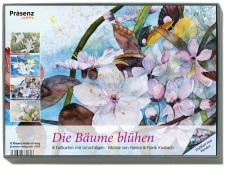 Kunstkarten-Box - Die Bäume blühen - mit Aquarellen von Frank Koebsch