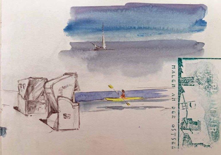 Skibbel - Kühlungsborner Strand von Sonja Jachichsen