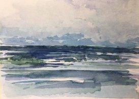 Wasseranlage für ein Ostsee Aquarell (2)