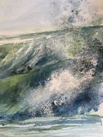 Wellen 3 - Aquarell von Sonja Jannichsen