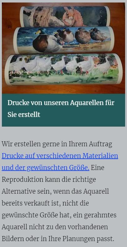 Drucke von unseren Aquarellen - atelier-koebsch.de