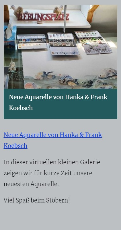 Neue Aquarell - atelier-koebsch.de