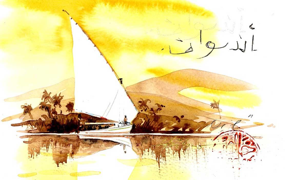 Auf dem Nil - Ägypten © Jens Hübner
