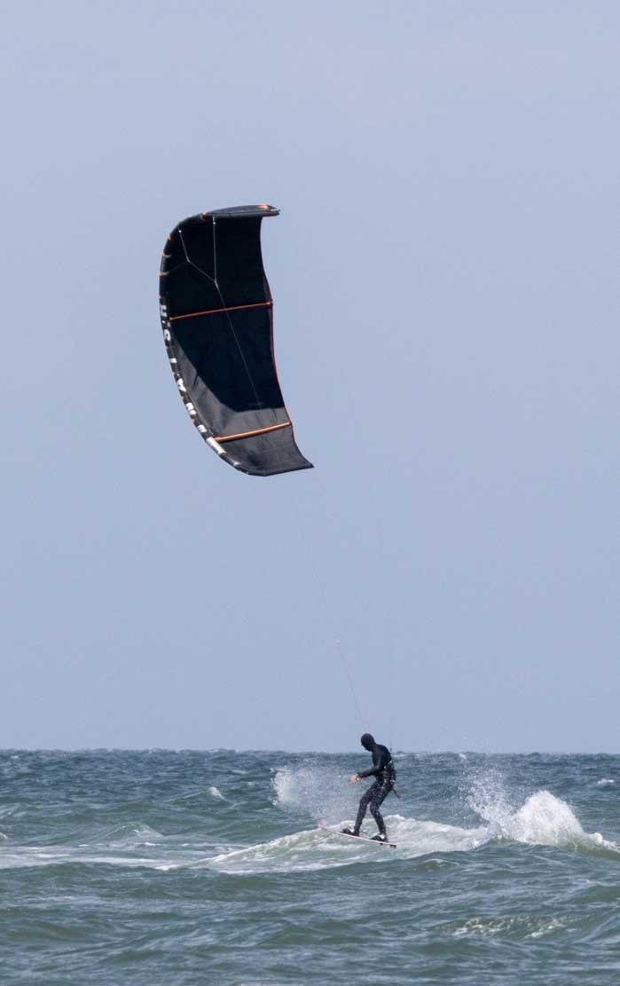 Kitesurfen auf der Ostsee vor Kägsdorf © Frank Koebsch (3)
