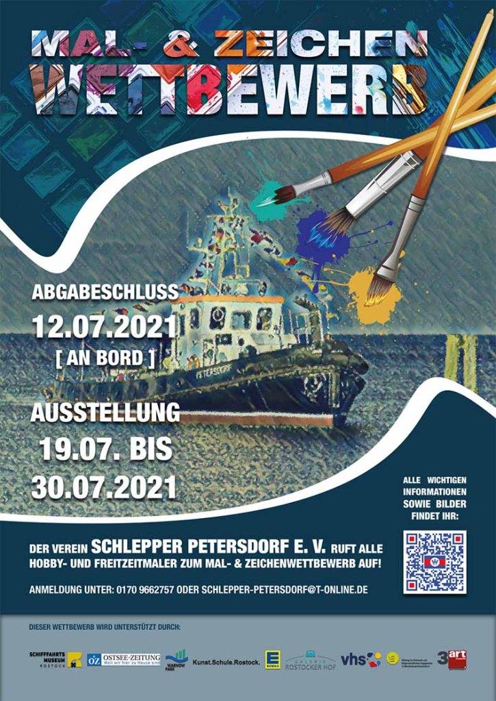 Mal- und Zeichenwettbewerb für den Schlepper Petersdorf
