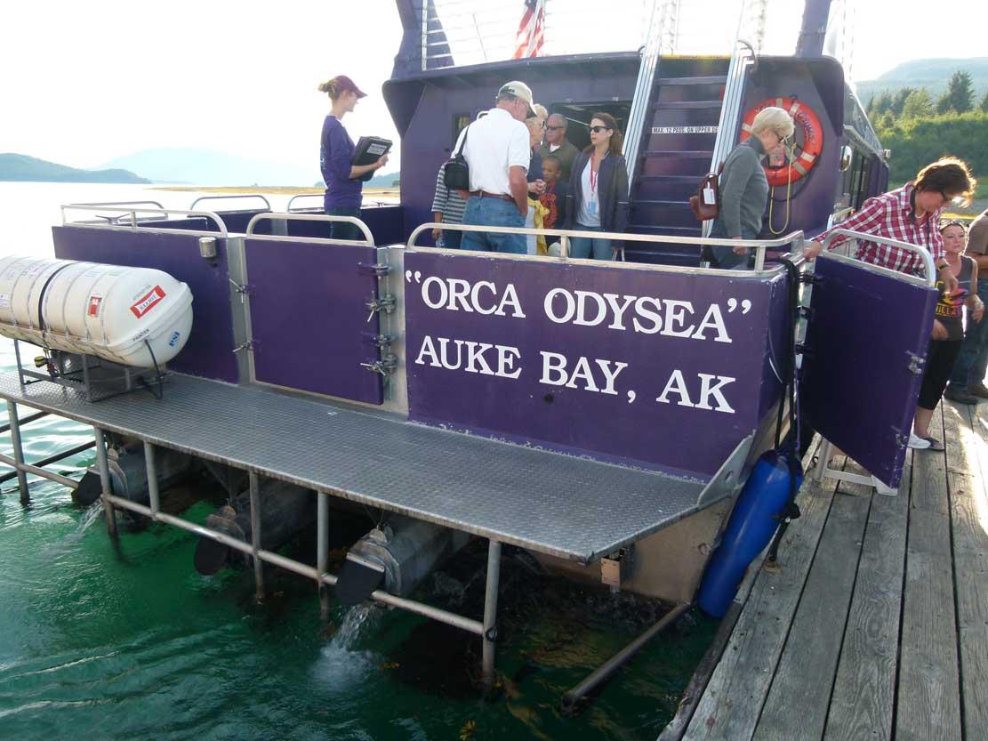 Das Boot von Larry in Juneau (c) Frank Koebsch