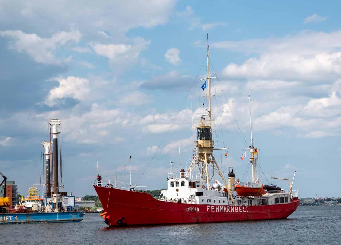 Das Feuerschiff - die Fehmarnbelt auf der Hanse Sail 2021 © Frank Koebsch (3)