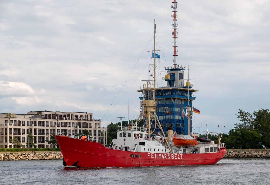 Das Feuerschiff - die Fehmarnbelt auf der Hanse Sail 2021 © Frank Koebsch (6)