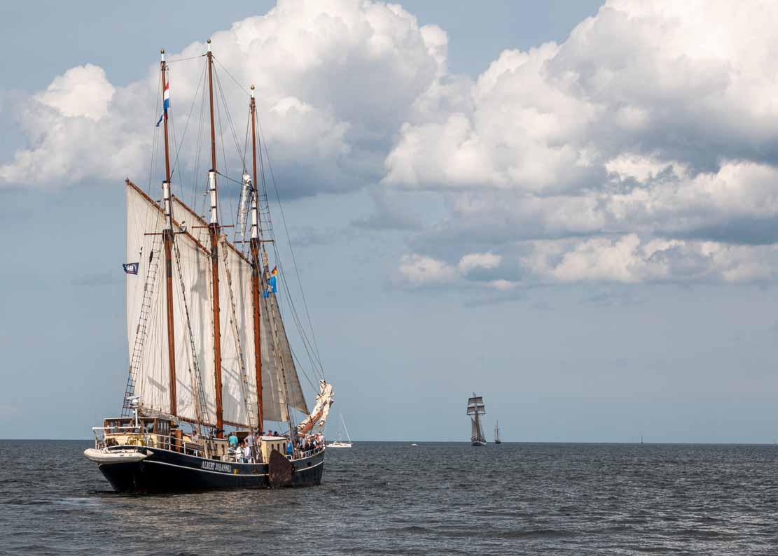 Die Albert Johannes auf der Hanse Sail 2021 © Frank Koebsch (2)