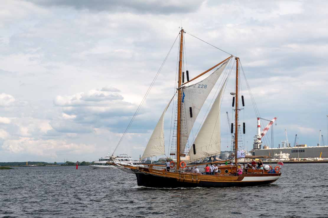 Die Bona Wentura auf der Hanse Sail 2021 © Frank Koebsch (1)