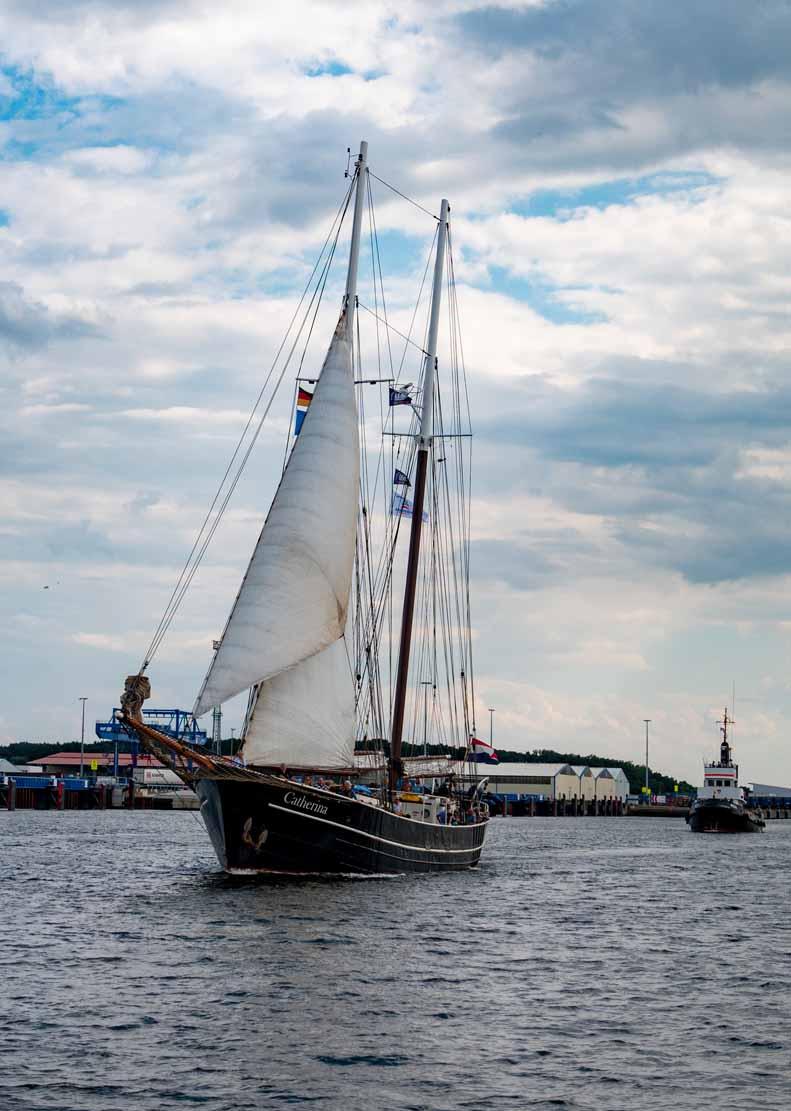 Die Catherina auf der Hanse Sail 2021 © Frank Koebsch (1)
