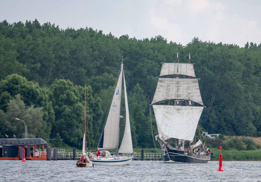 Die Jantje auf der Hanse Sail 2021 © Frank Koebsch (2)