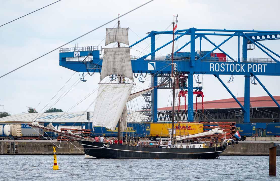 Die Jantje auf der Hanse Sail 2021 © Frank Koebsch (7)