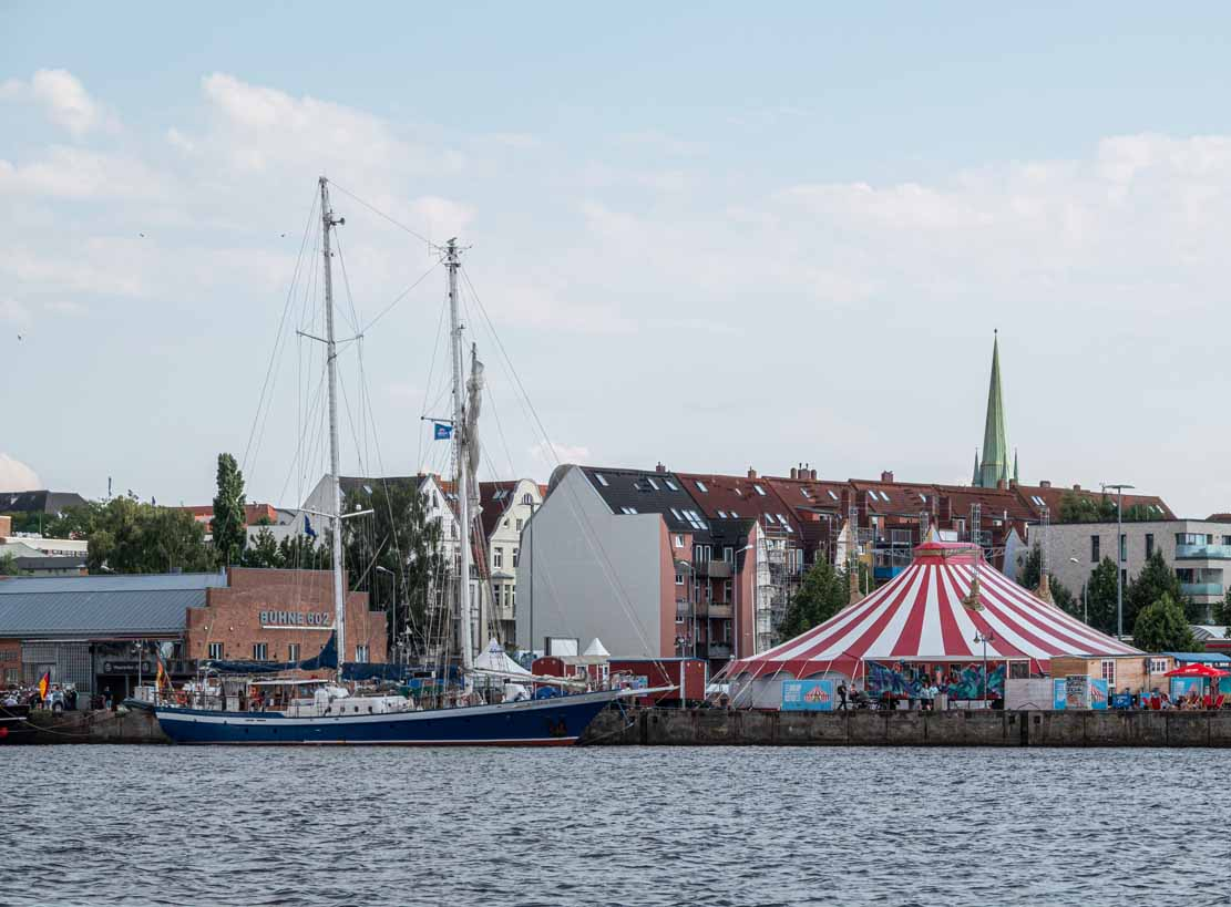 Die Johann Smidt im Stadthafen Rostock während der Hanse Sail 2021 © Frank Koebsch (1)
