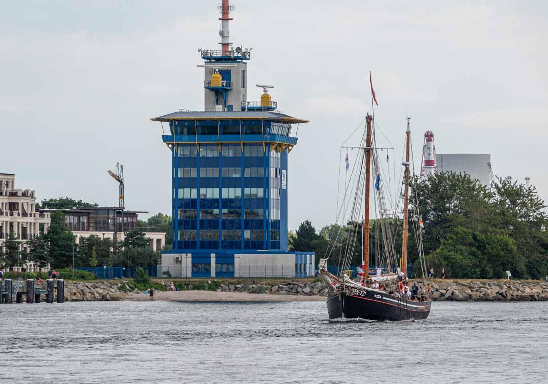 Die PN 121 auf der Hanse Sail 2021 © Frank Koebsch (2)