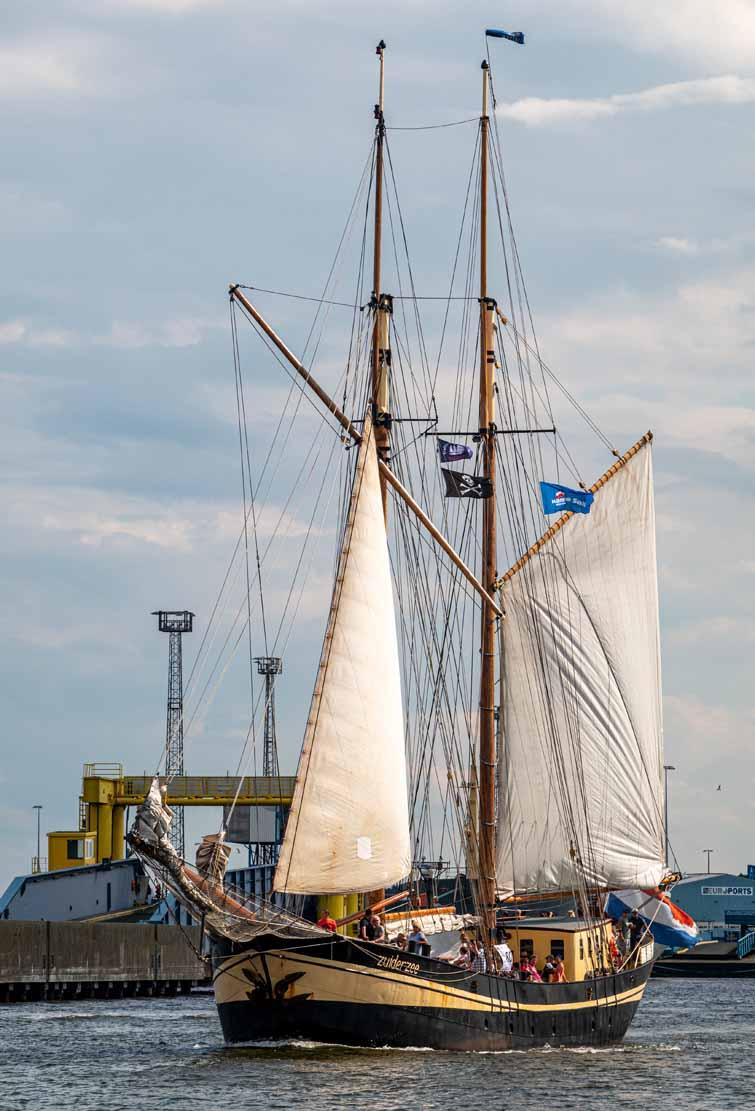 Die Zuiderzee auf der Hanse Sail 2021 © Frank Koebsch (3)