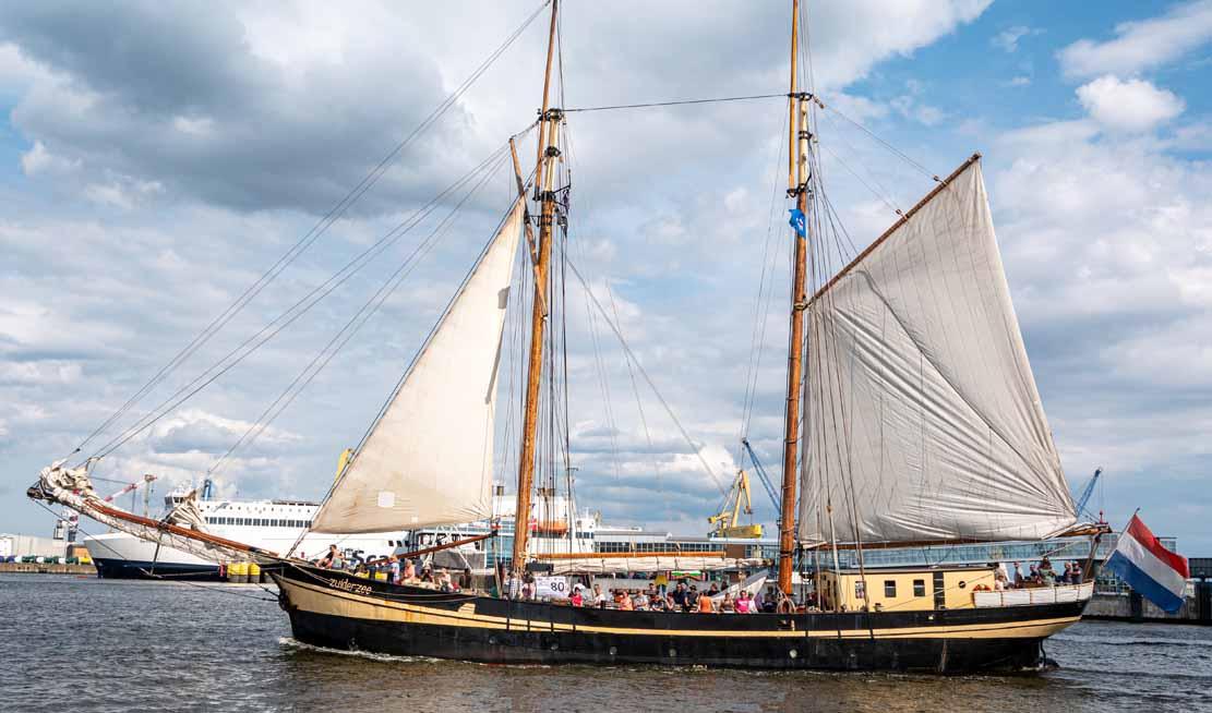 Die Zuiderzee auf der Hanse Sail 2021 © Frank Koebsch (4)