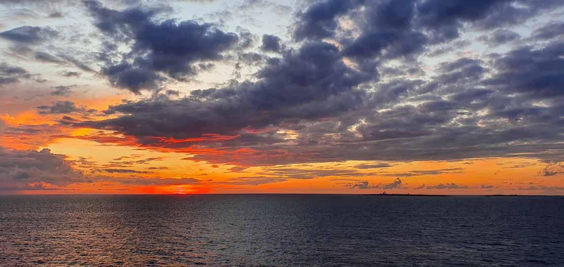 Sonnenuntergang bei der Insel Vinga (c) Frank Koebsch (1)