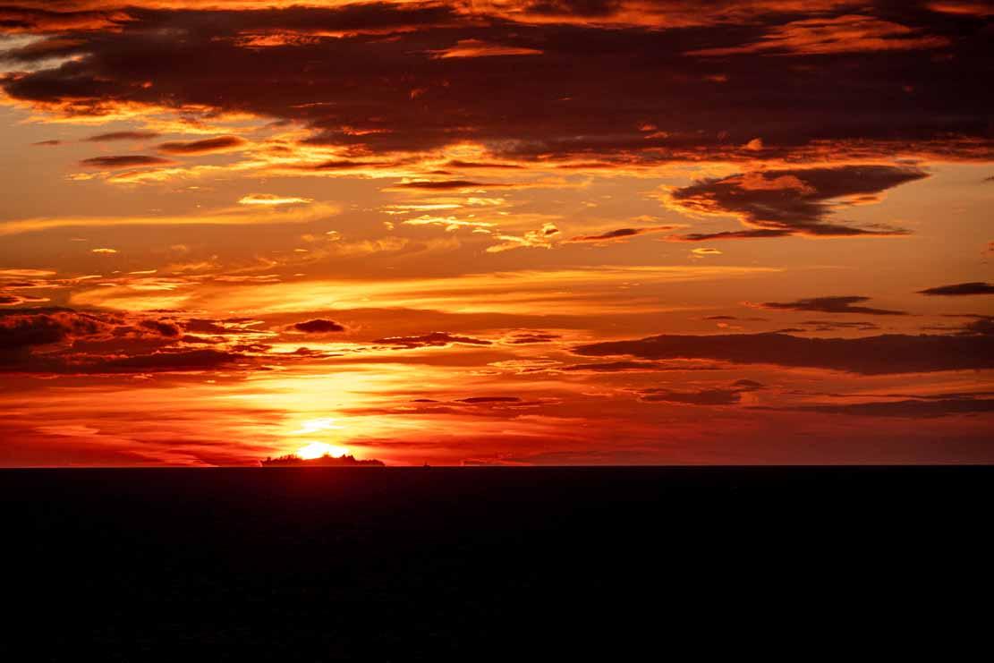 Sonnenuntergang bei der Insel Vinga (c) Frank Koebsch (10)